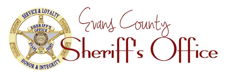 Sheriff Randall H. Tippins Evans County GA